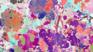 Allover Abstract Floral